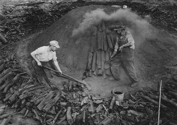 national archive charcoal pit